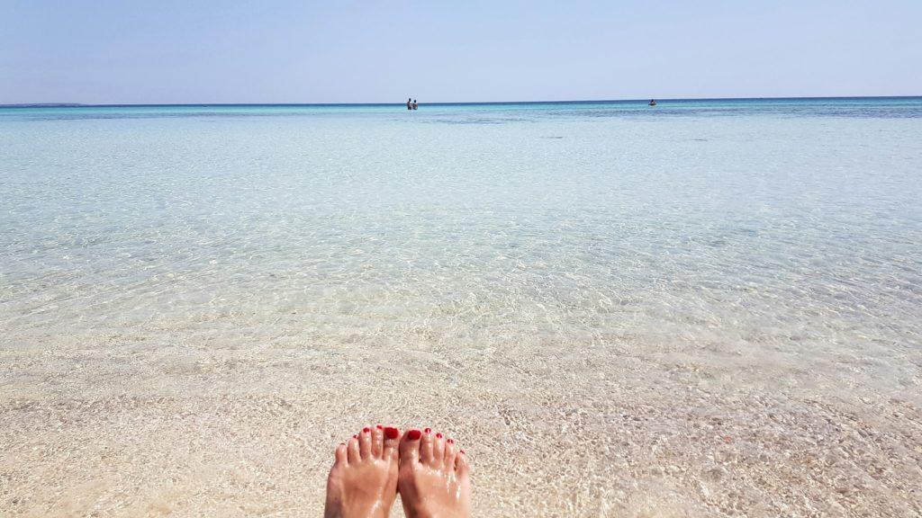 Il mare di Porto Cesareo